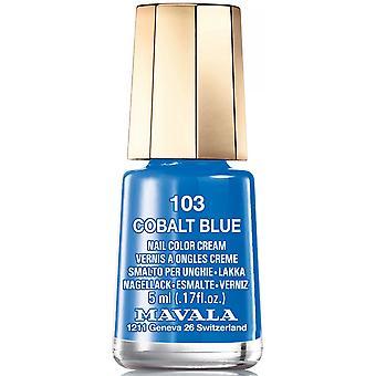 Mavala Mini Nail Color Creme Nagellack - Kobaltblau (103) 5ml