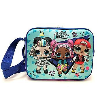 Lunch Bag - L.O.L Surprise - Blue 3D Kit Case New 169725-2