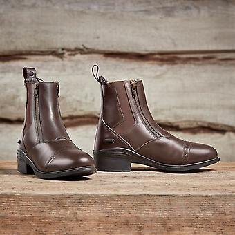 Dublin Womens Evolution Double Zip Paddock Boots Ladies Shoes