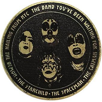 Patch - Kiss - Hailing From NYC Icon-On p-4634