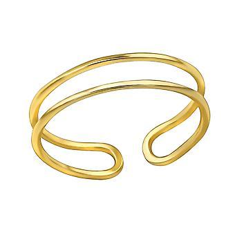 Open - 925 Sterling Silver Plain Rings - W30396x