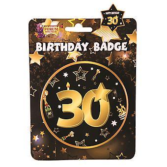 Bristol Novelty 30th Birthday Badge