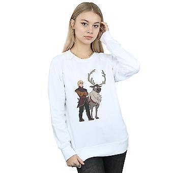 Disney Women's Frozen 2 Sven And Kristoff Sweatshirt