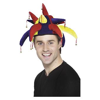Volwassenen Jester Hat Fancy Dress accessoire