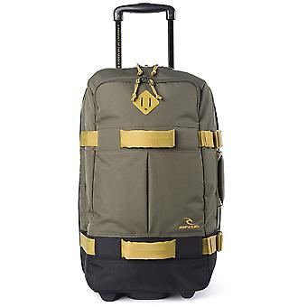 Rip Curl F-Light Trans Stacka Wheeled Luggage in Military Green
