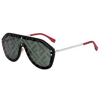 Fendi Fabulous FF M0039/G/S 807/XR Black/Green Decor Sunglasses