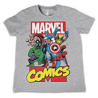 Marvel Heroes Kid's Camisa