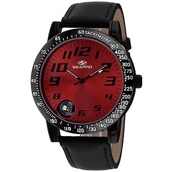 Seapro Men's Raceway Red Dial Watch - SP5111