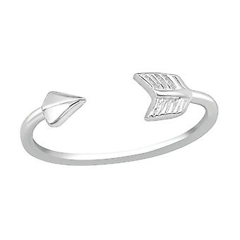 Arrow - 925 Sterling Silver Toe Rings - W20686x