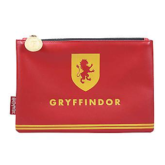 Harry Potter Travel Pouch Purse House Pride Gryffindor Logo new Official Red