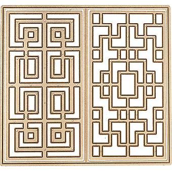 Spellbinders Shapeabilities Dies By Lene Lok - Chinese Traditional Fence 2.4