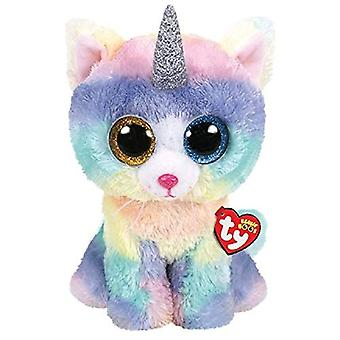 TY 36753 Heather Cat With Unicorn Horn - Large Boo