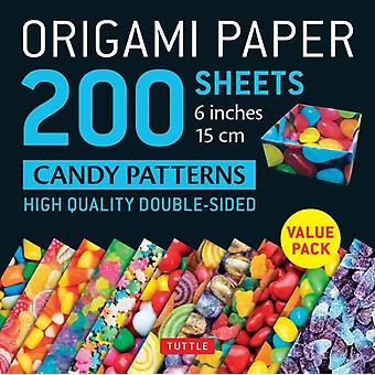 Origami Paper 200 sheets Candy Patterns 6 15 cm