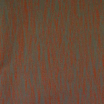 Mcalister textiles lorne fire ignifant brûlé tissu orange brûlé