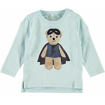 Nommez-le Bleu Clair T-Shirt Nitgeslil Nom-Il