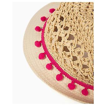 Zippy Straw Hat Pompom
