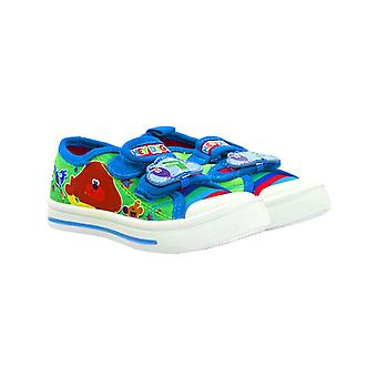 Hey Duggee Squirrel Club Green Boys Trainers Kids Canvas Shoes