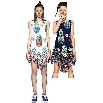 Desigual vrouwen ' s Rouses pineapplea print jurk