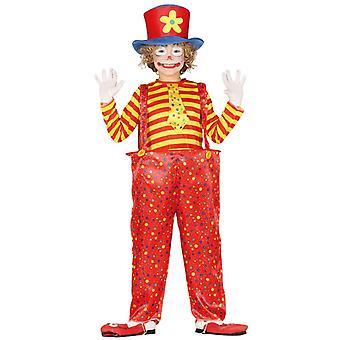 Pojat Circus Clown Fancy Mekko Puku