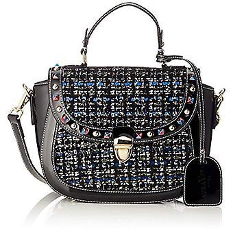 Laura Vita 2975 - Black Woman handbag (Schwarz (Noir)) 8x18x26 cm (B x H T)