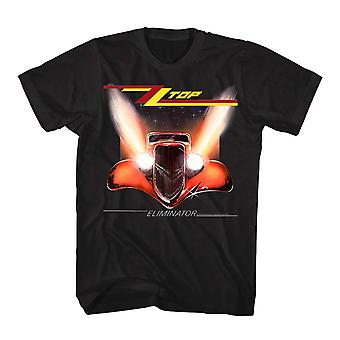 ZZ Top Unisex Adults Eliminator Print T-Shirt