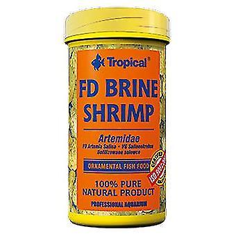 Tropical Fd Brine Shrimp 150 ml (Peces , Comida , Agua caliente)