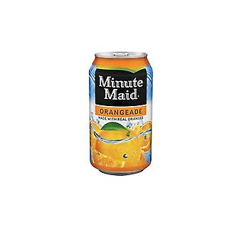 Minute Maid Refresh Orangeade Dosen -( 355 Ml X 12 Dosen )
