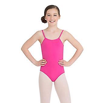 Capezio Mädchen ' große Camisole Trikot w/einstellbare Riemen, Hot Pink, Größe groß