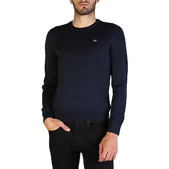 Napapijri Original Men Fall/Winter Sweater - Blue Color 35893