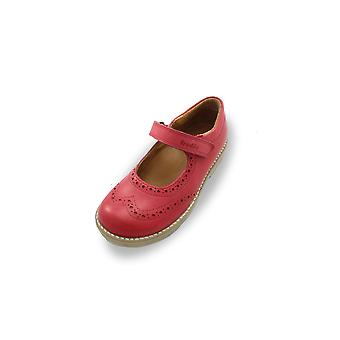 Froddo red brogue mary-jane shoes