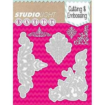 Studio Light Embossing Die Cut Stencil nr 40 STENCILSL40