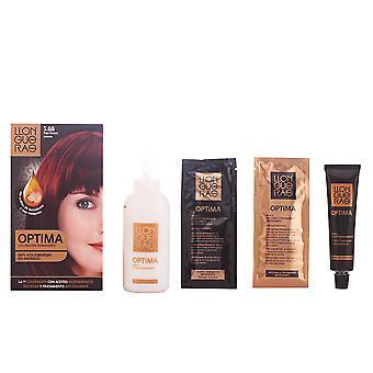 Llongueras Optima Hair Colour #5.66-deep Intense Red Unisex