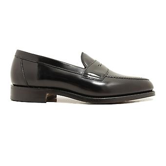 Loake Imperial Black Polished Leather