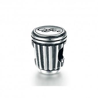 Sterling Silver Charm Coffee Cup - 5402