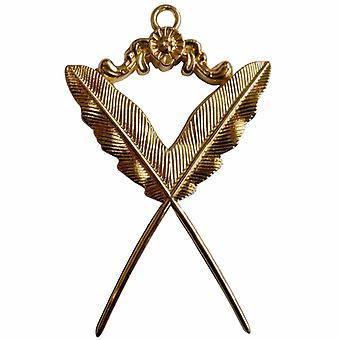 جوهرة طوق الذهب الماسوني - سكرتير