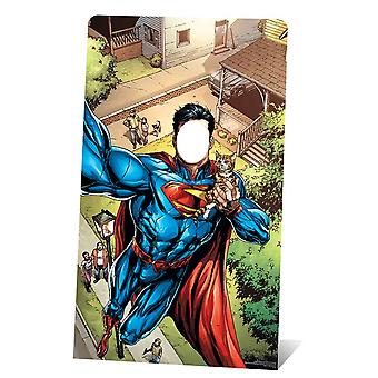 Superman Selfie Stand In Lifesize Cardboard Cutout / Standee