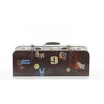 """8"""" x 30"""" x 11.5"""" Vintage Suitcase"""