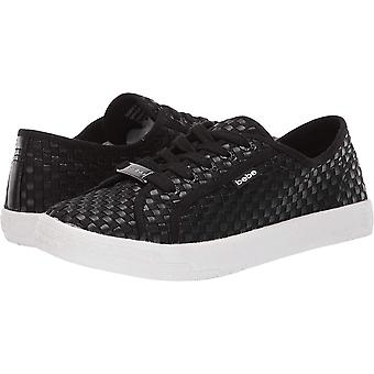 Bebe Womens dorey Leather Low Top Lace Up Fashion Sneakers
