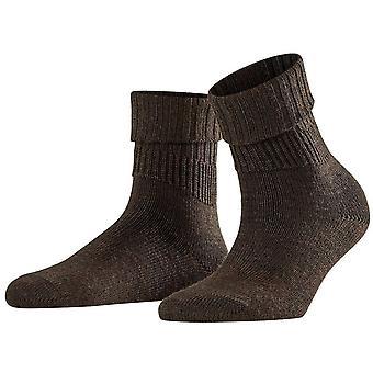 Falke Striggings Rib Socks - Dark Brown