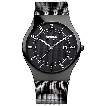 Bering hombres reloj de pulsera delgado reloj solar - 14640-222 banda de malla