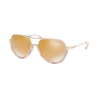 Michael Kors Austin Ladies Sunglasses - MK1031 10275A - Rose Gold