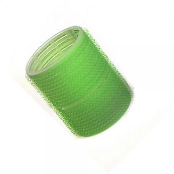 Hair tools cling rollers large green 48mm x12