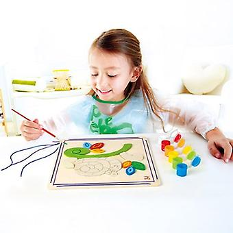 Hape Happy Snail Paint and Frame E5112