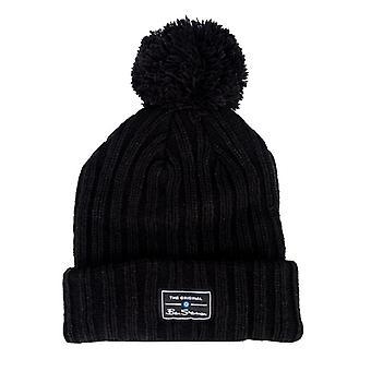 Accessoires Ben Sherman McCree Bobble Hat en noir