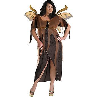 Costume adulte fée marron