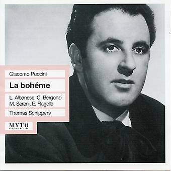 Thomas Schippers & Bergonzi - Puccini: La Boheme [CD] USA import