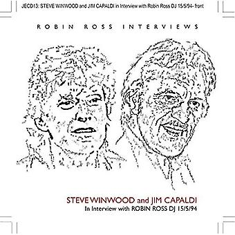 Winwood, Steve / Capaldi, Jim - entretien avec Robin Ross 15/05/94 [CD] USA import