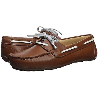 Driver Club USA Women's Leather Made in Brazil Daytona Beach Boat Shoe