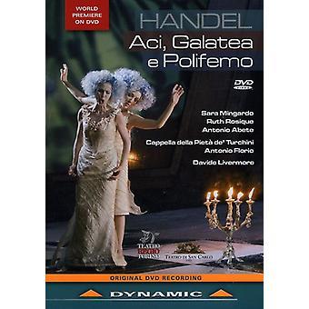 G.F. Handel - Aci Galatea E Poliformo [DVD] USA import