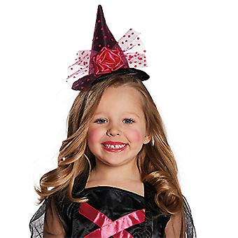 Witch Hat headband black / pink for children accessories Carnival Halloween witch